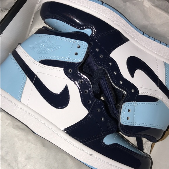 Jordan Shoes Air 1 Retro High Og Wmns Blue Chill Poshmark